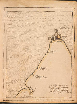 Horn Island as drawn on the voyage