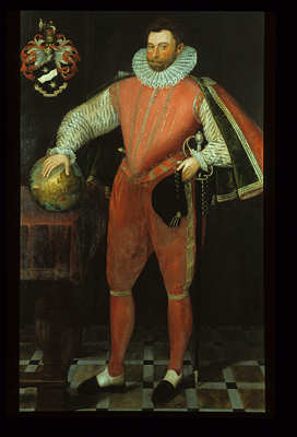 Sir Francis Drake at Buckland Abbey