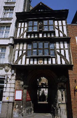 Gatehouse of the church of St Bartholomew the Great
