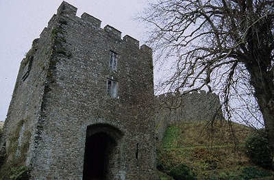 Trematon Castle gatehouse